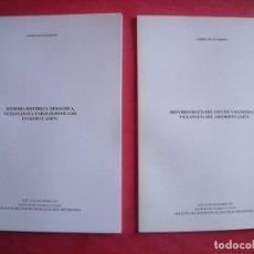 Libros de segunda mano: ANDRES NICAS MORENO.-IZNATORAF.-VILLANUEVA DEL ARZOBISPO.-BOLETIN INSTITUTO DE ESTUDIOS GIENNENSES.. Lote 189198905