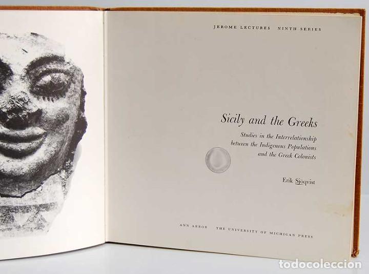 Libros de segunda mano: Sicily and the Greeks - Erik Sjöqvist - Foto 2 - 54441252