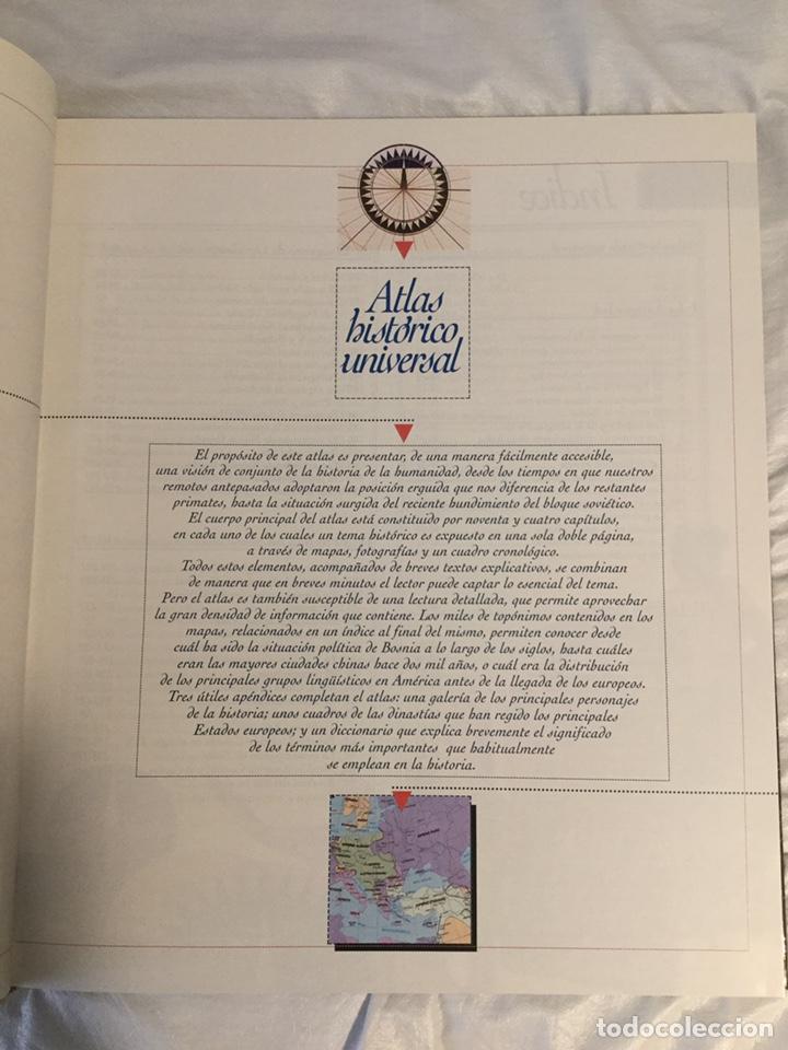 Libros de segunda mano: Atlas histórico universal, el país Aguilar - Foto 2 - 189593776