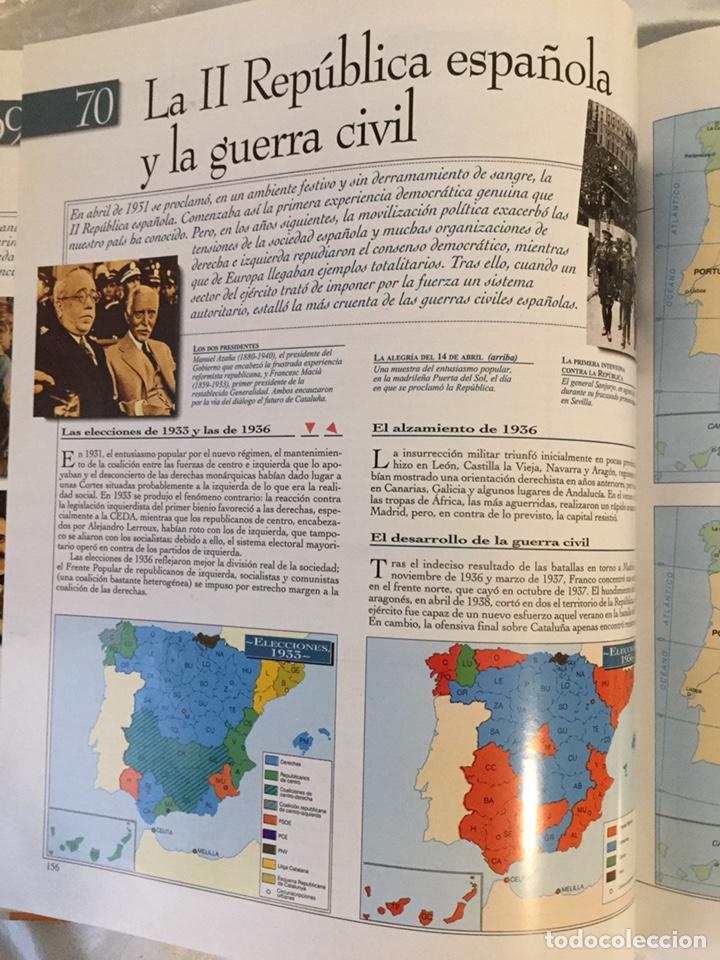 Libros de segunda mano: Atlas histórico universal, el país Aguilar - Foto 9 - 189593776