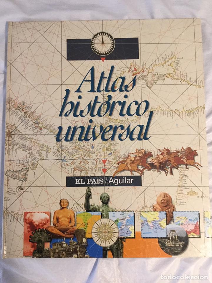 ATLAS HISTÓRICO UNIVERSAL, EL PAÍS AGUILAR (Libros de Segunda Mano - Historia Antigua)