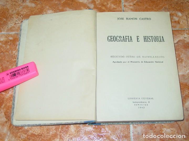 Geografía E Historia Segundo De Bachillerato Comprar Libros De Historia Antigua En Todocoleccion 189612261