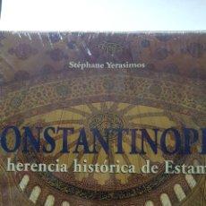 Libros de segunda mano: CONSTANTINOPLA, LA HERENCIA HISTÓRICA DE ESTAMBUL-STÉPHANE YERASIMOS-2007- ULLMANN&KÖNEMANN. Lote 189835012