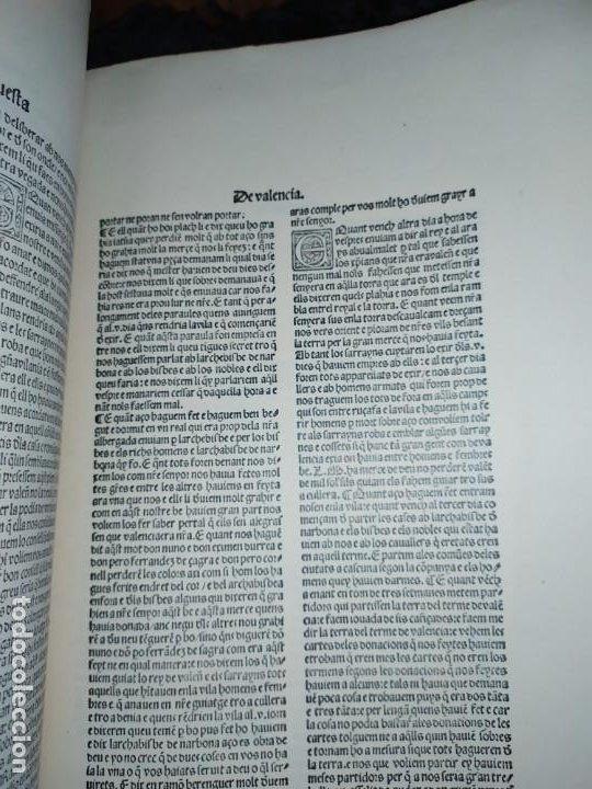 Libros de segunda mano: Unico Conquesta p lo Serenissim de la Ciutat e Regne de Valencia facsímil 1979 Paris Jaime Aragon? - Foto 3 - 189908502