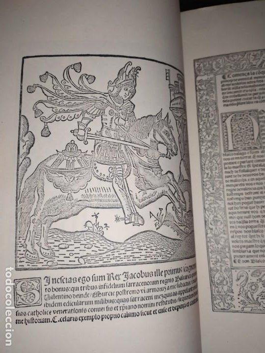 Libros de segunda mano: Unico Conquesta p lo Serenissim de la Ciutat e Regne de Valencia facsímil 1979 Paris Jaime Aragon? - Foto 14 - 189908502
