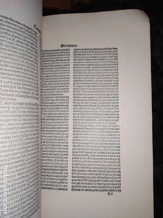 Libros de segunda mano: Unico Conquesta p lo Serenissim de la Ciutat e Regne de Valencia facsímil 1979 Paris Jaime Aragon? - Foto 16 - 189908502