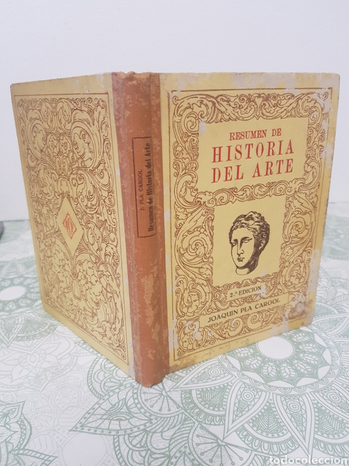 1948 JOAQUIN PLA CARGOL RESUMEN DE HISTORIA DEL ARTE ILUSTRADO (Libros de Segunda Mano - Historia Antigua)