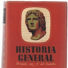 Libros de segunda mano: HISTORIA GENERAL TIEMPOS ANTIGUOS TOMO PRIMERO SALVADOR ESPRIU. Lote 190424365