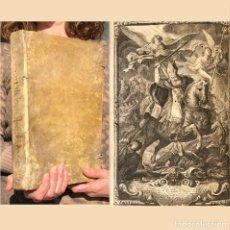 Libros de segunda mano: 1732 VIDA DE SAN ISIDRO - HISTORIA DE LEÓN - SEVILLA - PERGAMINO - FOLIO. Lote 190504192