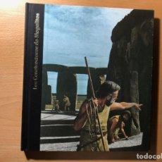 Libros de segunda mano: LOS CONSTRUCTORES DE MEGALITOS. ROBERT WERNICK EDITA. TIME-LIFE. NUEVO. SIN ESTRENAR.. Lote 190632156