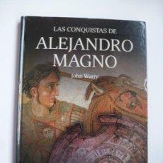 Libros de segunda mano: LAS CONQUISTAS DE ALEJANDRO MAGNO. JOHN WARRY. OSPREY. TAPAS DURAS. IMPECABLE. Lote 190896531