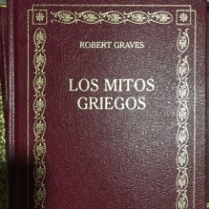 Libros de segunda mano: LOS MITOS GRIEGOS ROBERT GRAVES. Lote 191089207