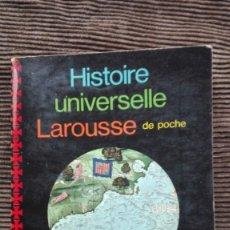 Libros de segunda mano: DE MARCO POLO A CHRISTOPHE COLOMB HISTORIA UNIVERSAL LAROUSSE EN FRANCÉS. Lote 191252066