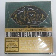 Libros de segunda mano: EL ORIGEN DE LA HUMANIDAD - NESTOR ALBESSARD - PLAZA & JANES CS208. Lote 191342316