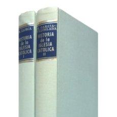 Libros de segunda mano: 1976 - HISTORIA DE LA IGLESIA - EDAD ANTIGUA Y MEDIEVAL - PAPAS, HEREJÍAS, PERSECUCIONES - B.A.C.. Lote 191502638