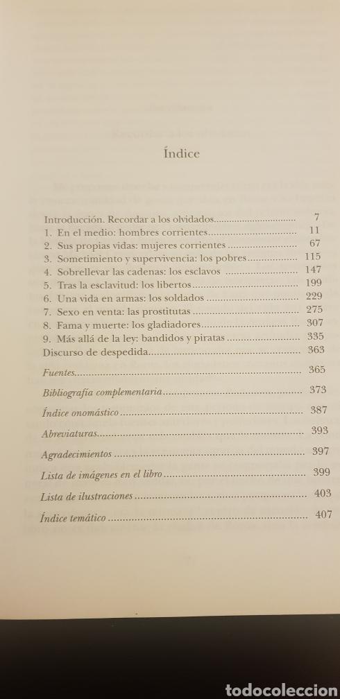 Libros de segunda mano: LOS OLVIDADOS DE ROMA - ROBERT C. KNAPP - Foto 2 - 117356595