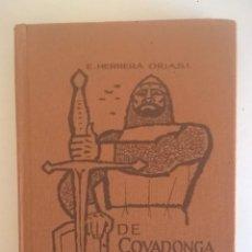 Libros de segunda mano: DE COVADONGA A GRANADA.HISTORIA DE LA RECONQUISTA DE ESPAÑA-P. ENRIQUE HERRERA ORIA,S.J.-2ª EDICIÓN. Lote 235612395