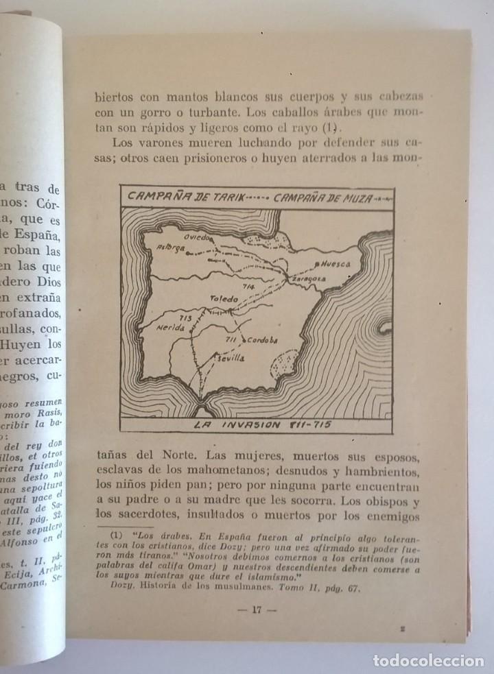Libros de segunda mano: DE COVADONGA A GRANADA.HISTORIA DE LA RECONQUISTA DE ESPAÑA-P. ENRIQUE HERRERA ORIA,S.J.-2ª EDICIÓN - Foto 47 - 235612395