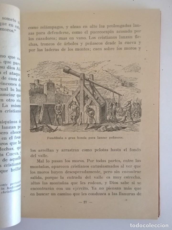 Libros de segunda mano: DE COVADONGA A GRANADA.HISTORIA DE LA RECONQUISTA DE ESPAÑA-P. ENRIQUE HERRERA ORIA,S.J.-2ª EDICIÓN - Foto 3 - 235612395