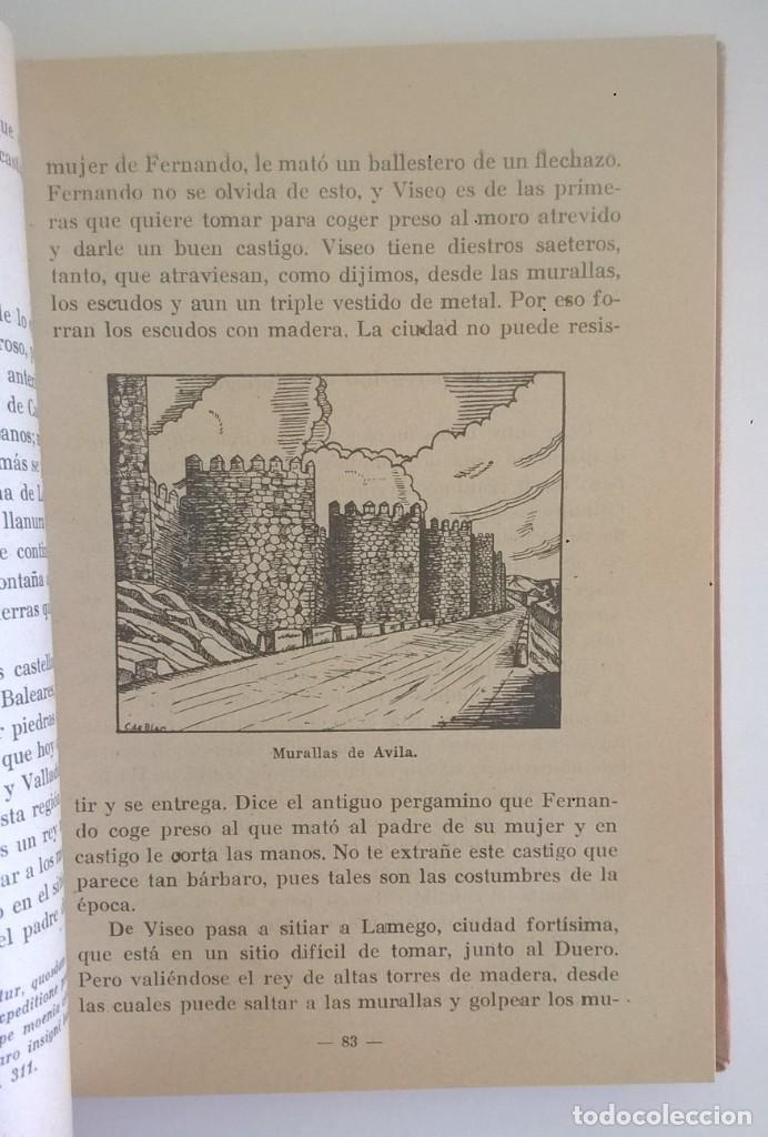 Libros de segunda mano: DE COVADONGA A GRANADA.HISTORIA DE LA RECONQUISTA DE ESPAÑA-P. ENRIQUE HERRERA ORIA,S.J.-2ª EDICIÓN - Foto 6 - 235612395