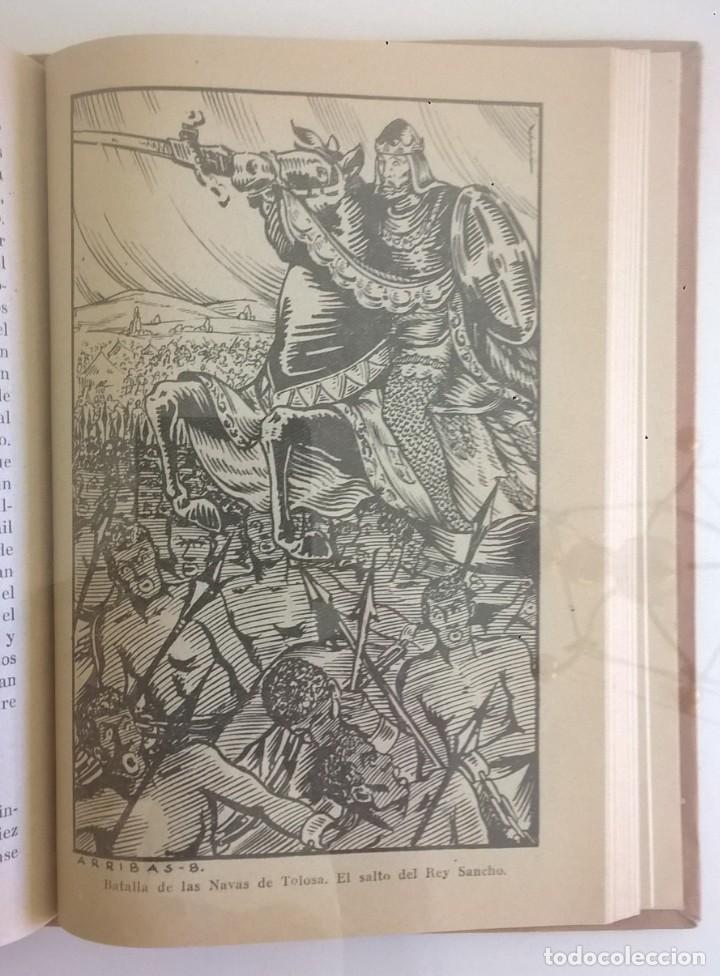 Libros de segunda mano: DE COVADONGA A GRANADA.HISTORIA DE LA RECONQUISTA DE ESPAÑA-P. ENRIQUE HERRERA ORIA,S.J.-2ª EDICIÓN - Foto 15 - 235612395