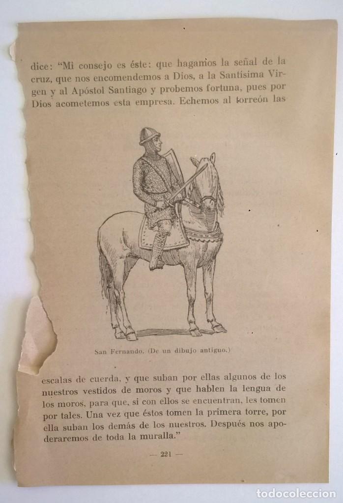 Libros de segunda mano: DE COVADONGA A GRANADA.HISTORIA DE LA RECONQUISTA DE ESPAÑA-P. ENRIQUE HERRERA ORIA,S.J.-2ª EDICIÓN - Foto 19 - 235612395