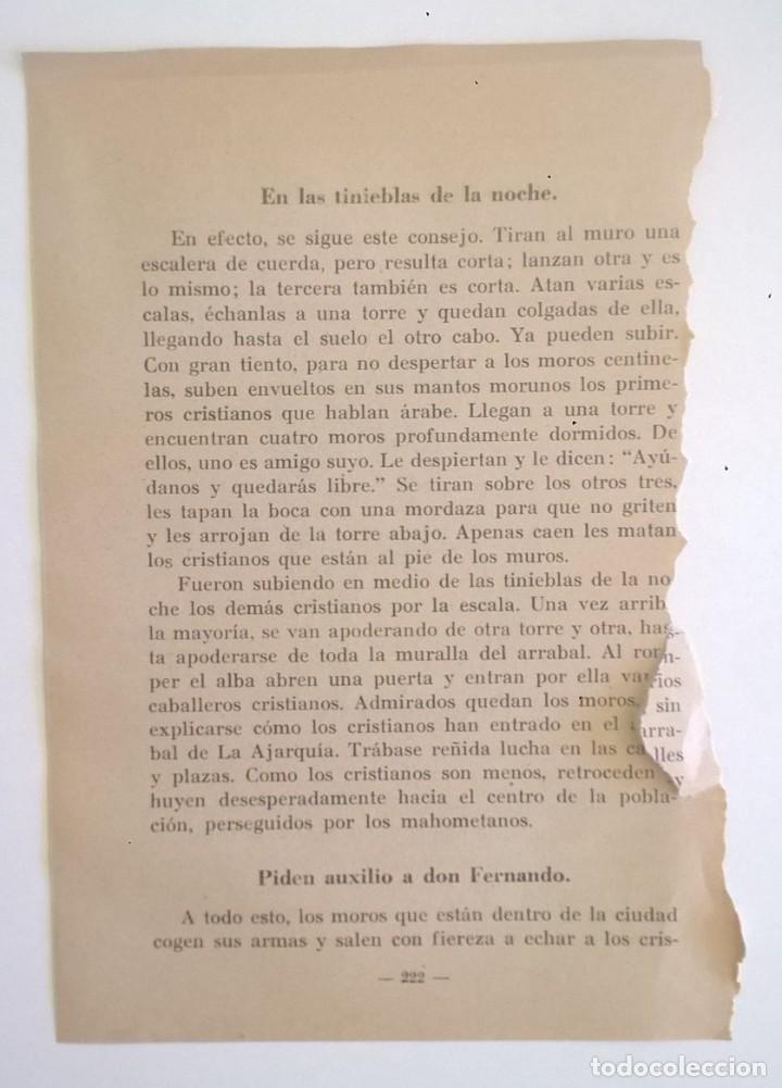 Libros de segunda mano: DE COVADONGA A GRANADA.HISTORIA DE LA RECONQUISTA DE ESPAÑA-P. ENRIQUE HERRERA ORIA,S.J.-2ª EDICIÓN - Foto 20 - 235612395