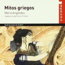 Libros de segunda mano: MITOS GRIEGOS. MARÍA ANGELIDOU. Lote 194570001