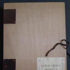 Libros de segunda mano: ATLAS CATALÀ ABRAHAM CRESQUES NUMERADO. Lote 194650298