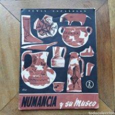 Libros de segunda mano: TEMAS ESPAÑOLES N 200 NUMANCIA Y SU MUSEO RICARDO DE APRAIZ 1955. Lote 194757987