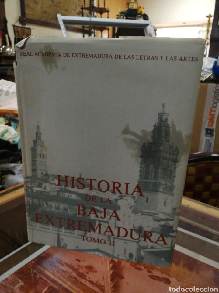 HISTORIA DA LA BAJA EXTREMADURA TOMO II.1350 PG (Libros de Segunda Mano - Historia Antigua)