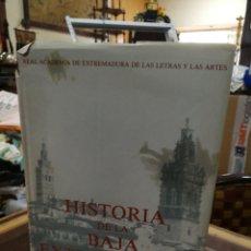 Libros de segunda mano: HISTORIA DA LA BAJA EXTREMADURA TOMO II.1350 PG. Lote 194777076