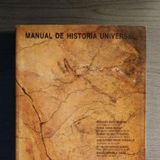 Libros de segunda mano: MANUAL DE HISTORIA UNIVERSAL. PREHISTORIA. MERCEDES CANO HERRERO Y OTROS. EDICIONES NÁJERA.1987 . Lote 194875005