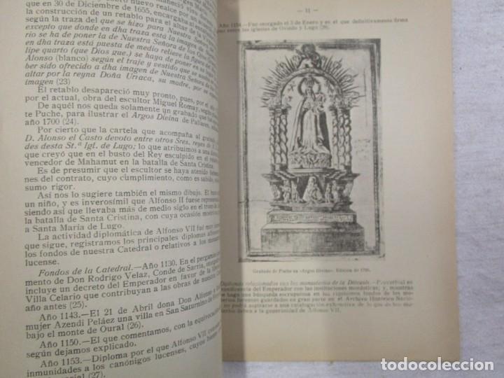Libros de segunda mano: GALICIA HISTORIA LOCAL - DIPLOMAS REALES DE LA CATEDRAL DE LUGO. DEL ALFONSO VII 1150 + INFO - Foto 3 - 194877761