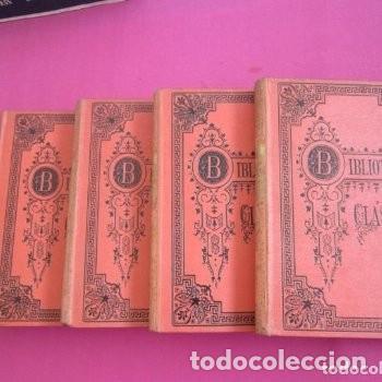 LAS VIDAS PARALELAS PLUTARCO 5 TOMOS COMPLETA BIBLIOTECA CLASICA 1911 EB2 (Libros de Segunda Mano - Historia Antigua)