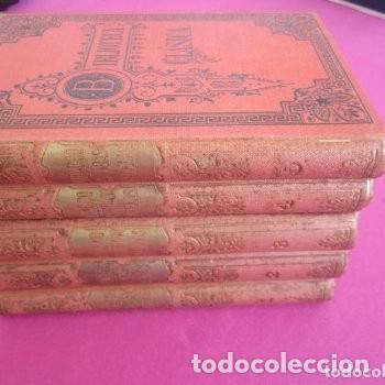 Libros de segunda mano: LAS VIDAS PARALELAS PLUTARCO 5 TOMOS COMPLETA BIBLIOTECA CLASICA 1911 EB2 - Foto 2 - 194961971