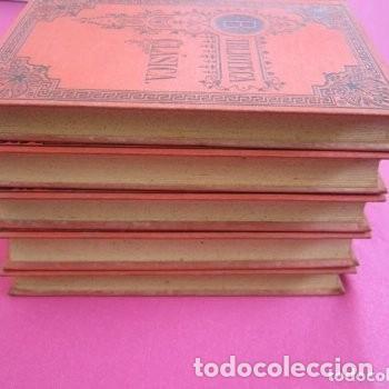 Libros de segunda mano: LAS VIDAS PARALELAS PLUTARCO 5 TOMOS COMPLETA BIBLIOTECA CLASICA 1911 EB2 - Foto 3 - 194961971