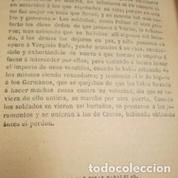 Libros de segunda mano: LAS VIDAS PARALELAS PLUTARCO 5 TOMOS COMPLETA BIBLIOTECA CLASICA 1911 EB2 - Foto 9 - 194961971