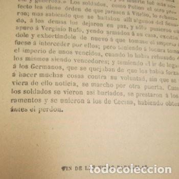 Libros de segunda mano: LAS VIDAS PARALELAS PLUTARCO 5 TOMOS COMPLETA BIBLIOTECA CLASICA 1911 EB2 - Foto 10 - 194961971