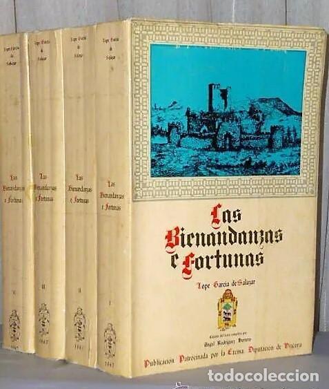 LAS BIENANDANZAS E FORTUNAS, CÓDICE DEL SIGLO XV. (4 TOMOS) (Libros de Segunda Mano - Historia Antigua)