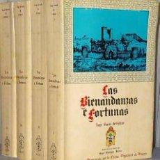 Libros de segunda mano: LAS BIENANDANZAS E FORTUNAS, CÓDICE DEL SIGLO XV. (4 TOMOS). Lote 195039748