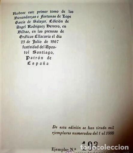 Libros de segunda mano: LAS BIENANDANZAS E FORTUNAS, CÓDICE DEL SIGLO XV. (4 tomos) - Foto 3 - 195039748