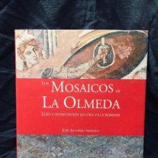 Libros de segunda mano: LOS MOSAICOS DE LA OLMEDA DIPUTACION PALENCIA JOSE ANTONIO ABASOLO. Lote 195066492