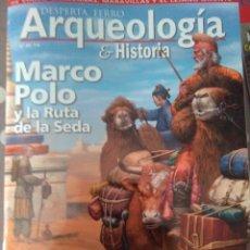 Libros de segunda mano: REVISTA DESPERTA FERRO Nº 29 AÑO 2020 , MARCO POLO Y LA RUTA DE LA SEDA . Lote 195145301