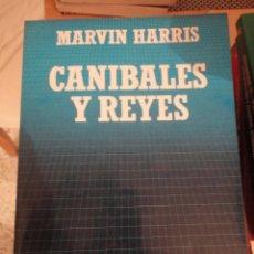 Libros de segunda mano: CANIBALES Y REYES. MARVIN HARRIS. BIBLIOTECA CIENTIFICA SALVAT. Nº 18. 1985. Lote 195153582