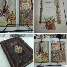 Libros de segunda mano: NOBILIARIO DE LOS REYNOS HISPANOS MANUSCRITO INÉDITO SIGLO XVI BBVA PRIVANZA 876/6000 BIBLIOFILIA. Lote 195224851