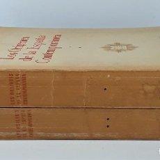 Libros de segunda mano: LOS ORÍGENES DE LA ESPAÑA CONTEMPORÁNEA. 2 TOMOS. M. ARTOLA. MADRID. 1959.. Lote 195302261