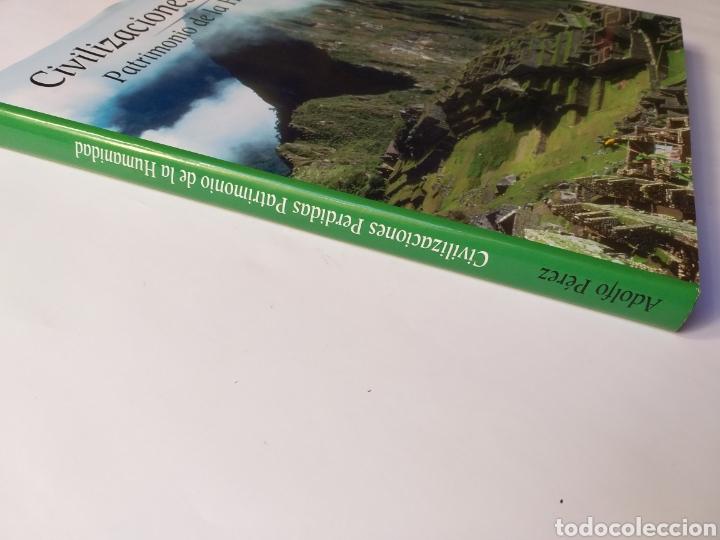Libros de segunda mano: Civilizaciones perdidas . Patrimonio de la Humanidad . Edimat libros 2001 . . Arte historia antigua - Foto 2 - 195368210