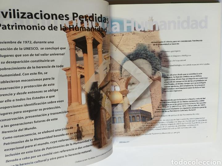 Libros de segunda mano: Civilizaciones perdidas . Patrimonio de la Humanidad . Edimat libros 2001 . . Arte historia antigua - Foto 7 - 195368210