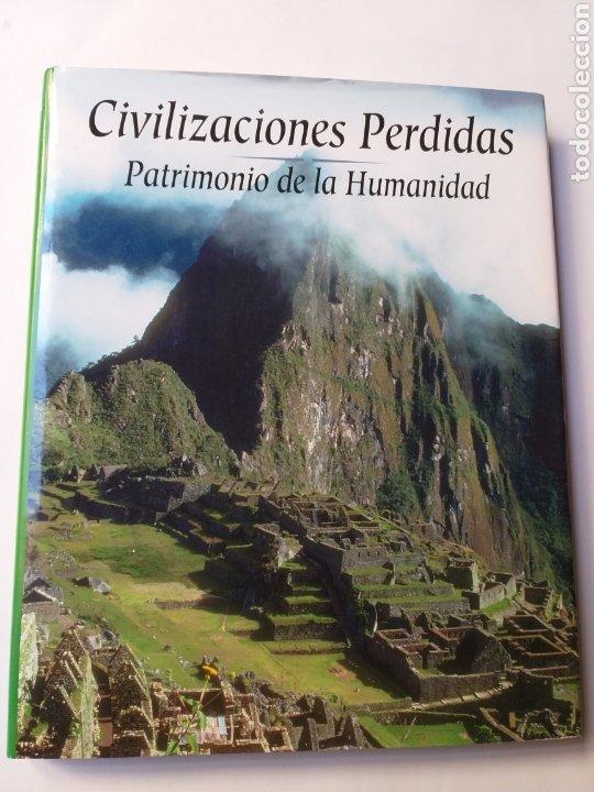 CIVILIZACIONES PERDIDAS . PATRIMONIO DE LA HUMANIDAD . EDIMAT LIBROS 2001 . . ARTE HISTORIA ANTIGUA (Libros de Segunda Mano - Historia Antigua)